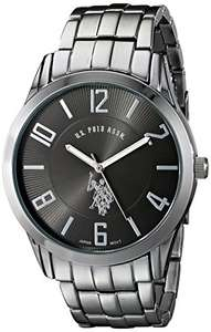 Amazon: Reloj U.S. POLO ASSN. de acero inoxidable