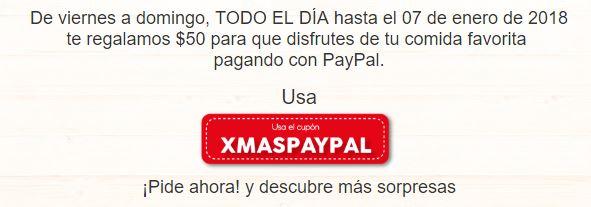 Sin Delantal: $50 de descuento en sin delantal todo el dia de viernes a domingo
