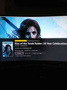 Microsoft Store: Rise of the Tomb Raider: 20 Year Celebration, con Gold $350.46