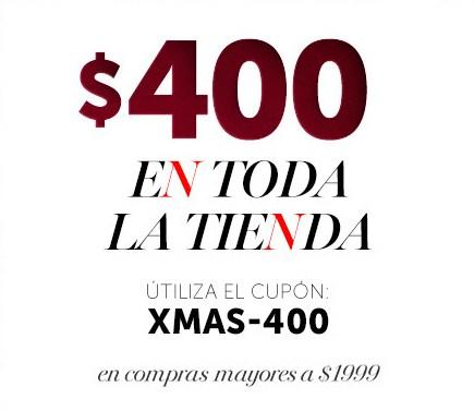 Ösom: Descuento de $400 pesos en compra mínima de $1,999