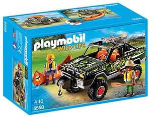Amazon MX: Playmobil Adventure Pickup Truck Building Kit