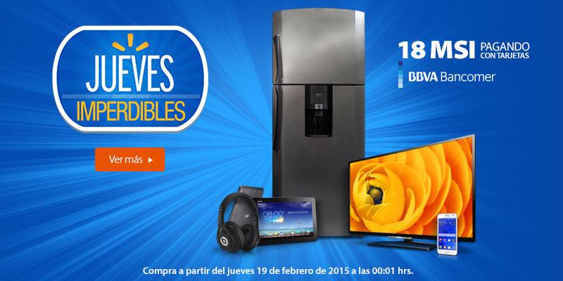 Walmart: 18 MSI pagando con tarjetas BBVA