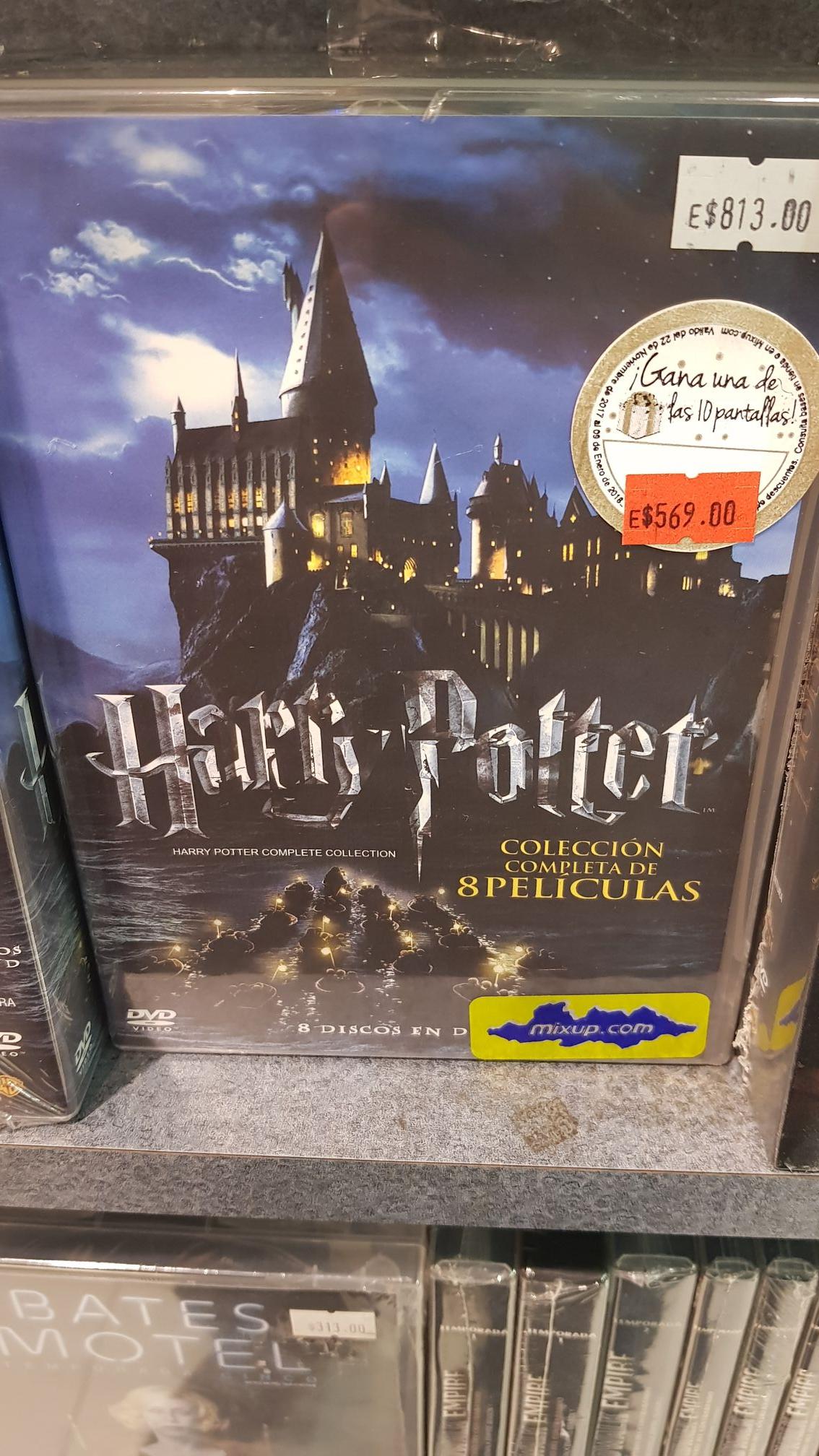 Mixup: Colección Harry Potter DVD las 8 películas.