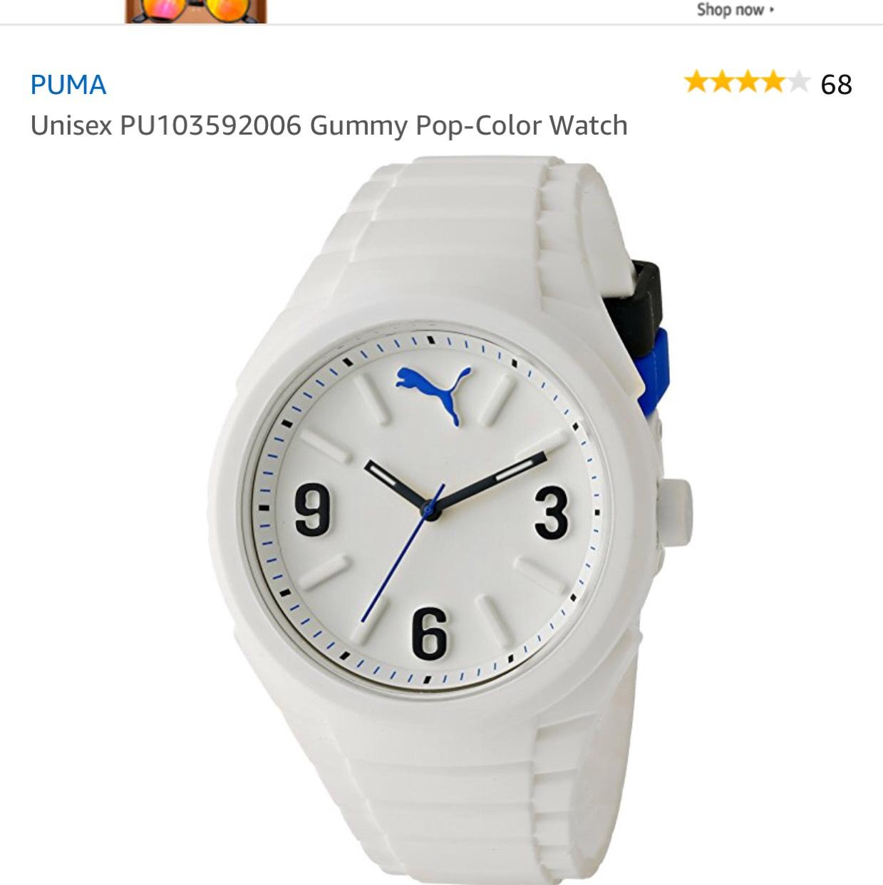 Amazon USA: Reloj Puma Unisex PU103592006 a $697