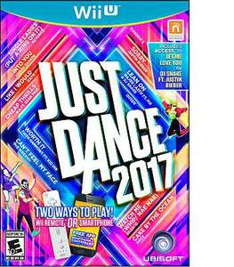 Amazon: Just Dance 2017 para Wii U