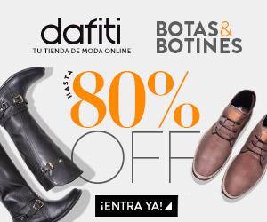 Dafiti: liquidación botas y botines con hasta 80% de descuento