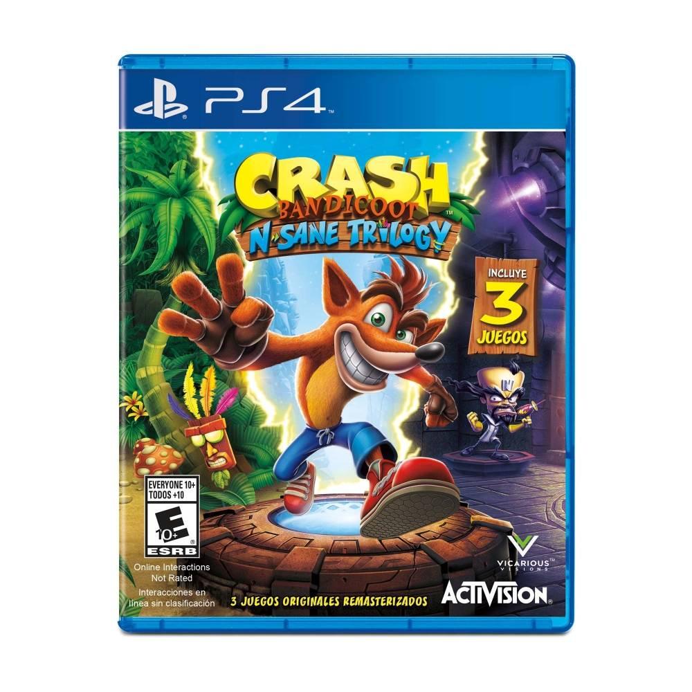 Sam's Club:  Crash Bandicoot: N Sane Trilogy para PS4