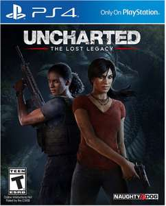 CDKeys: Uncharted The Lost Legacy para PS4