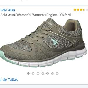 Amazon: Tenis US POLO Mujer/7.5mx