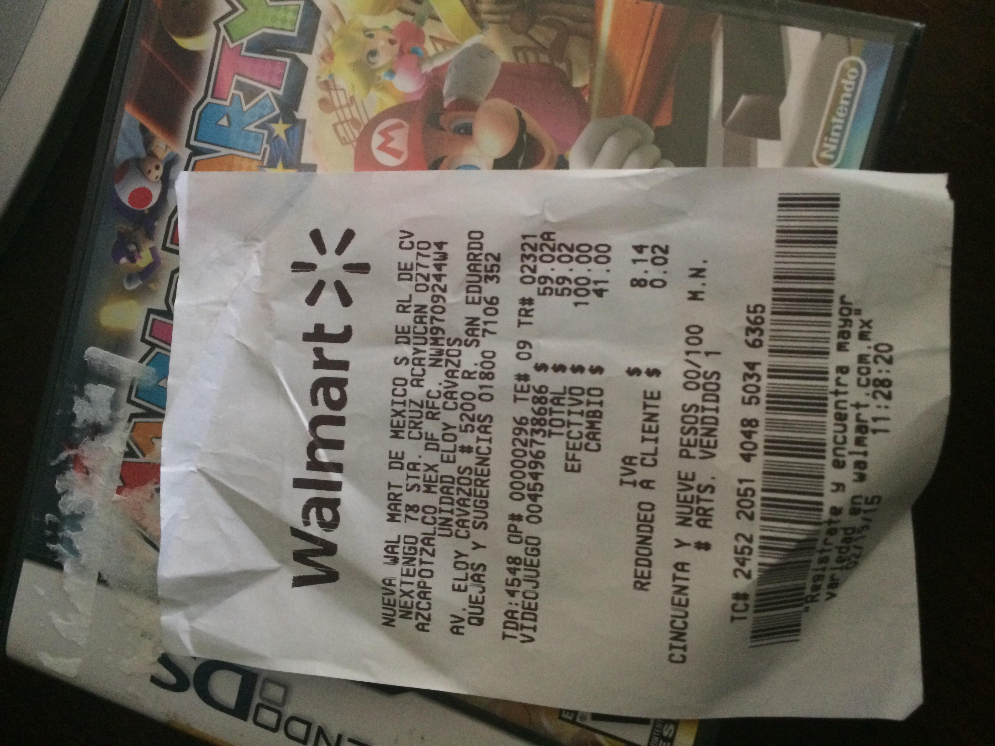 Walmart: Mario Party DS $59