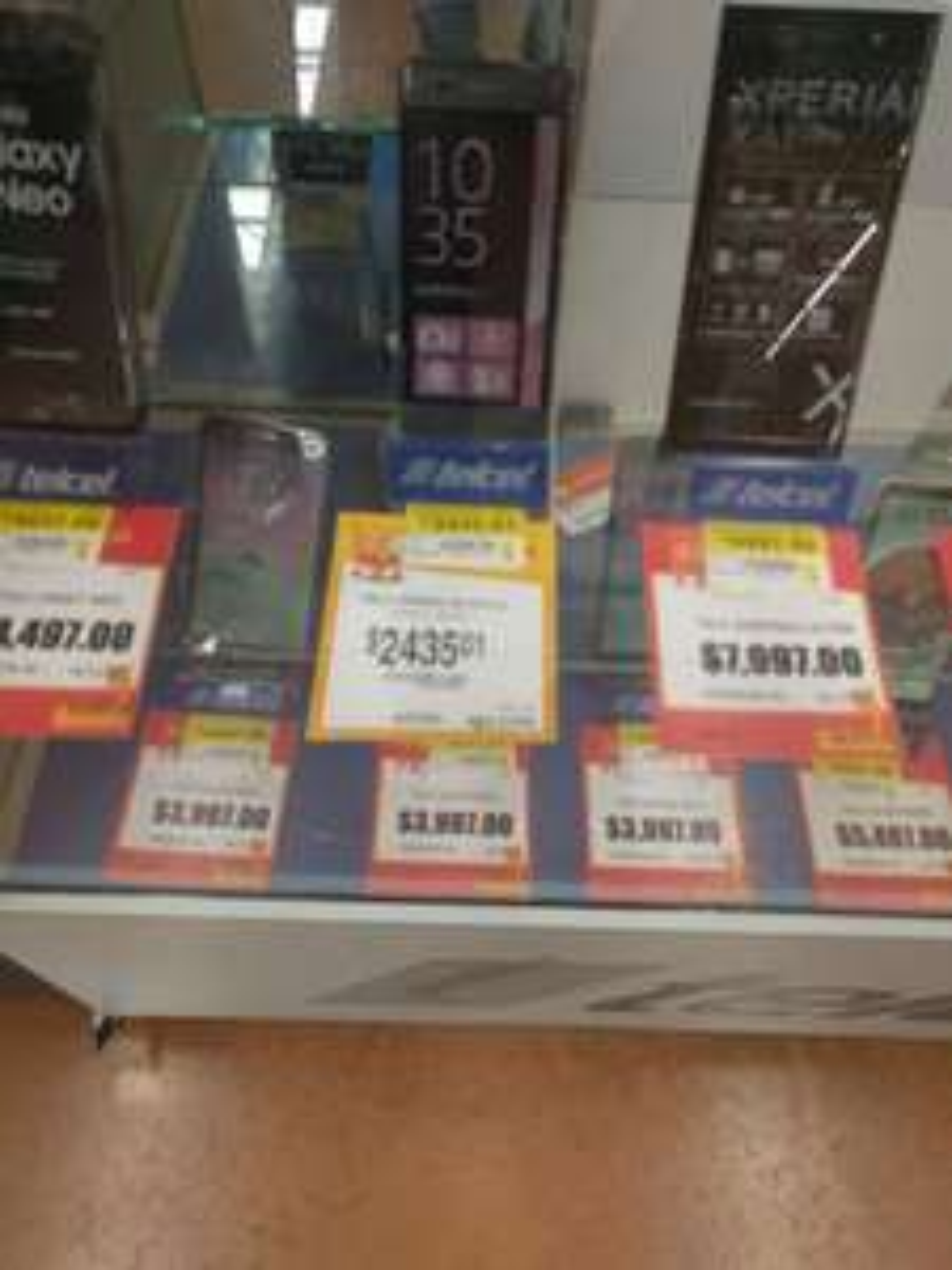 Walmart: liquidación Xperia XA