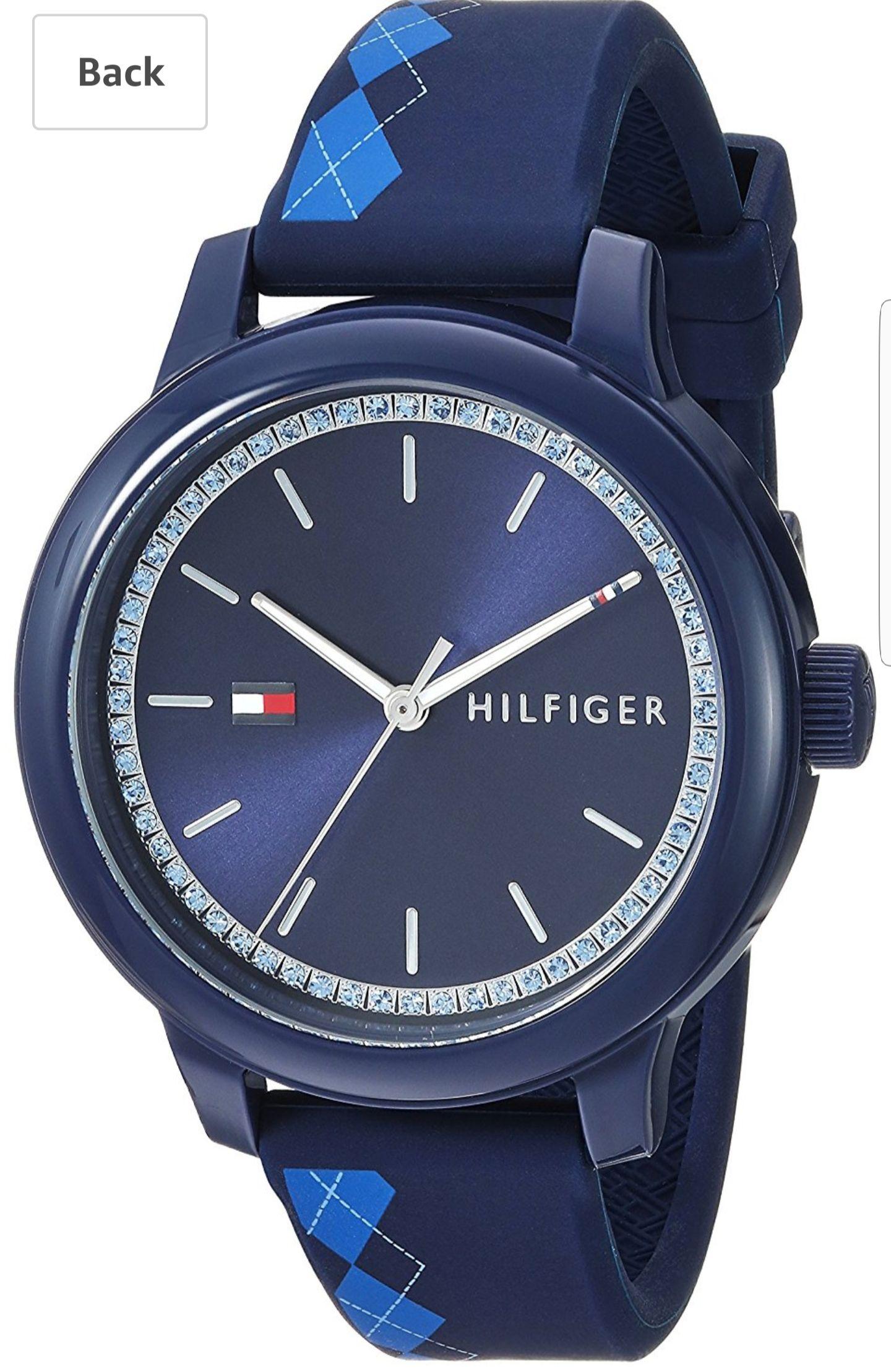 Amazon USA: Reloj Tommy dama azul 1781814