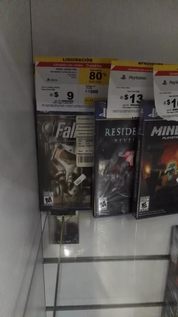 Elektra: Fallout 4 para PS4 en oferta