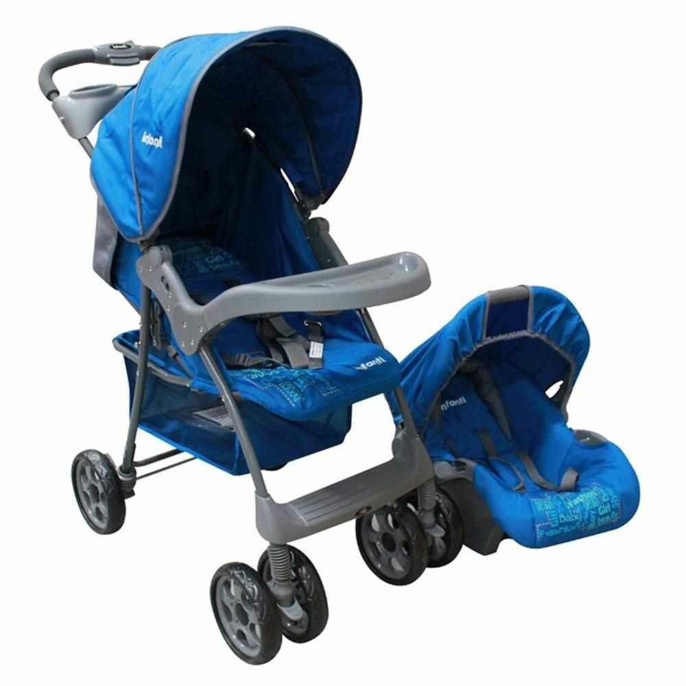 Walmart: Carriola Sistema de Viaje Infanti Kei Azul, también disponible en rojo y rosa