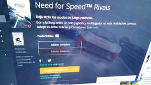 Origin: Need For Speed Rivals PC