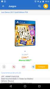 Walmart: Just dance gold edition PS4