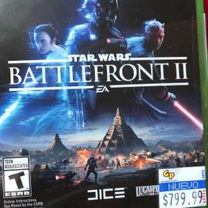 Game Planet: Star Wars Battlefront II PS4 y Xbox One