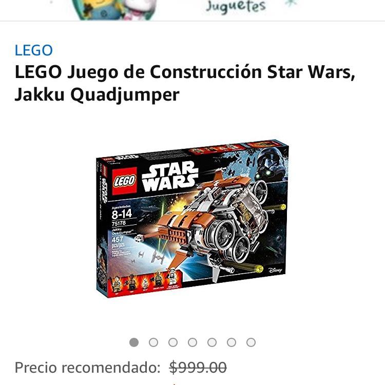 Amazon: LEGO Juego de Construcción Star Wars, Jakku Quadjumper