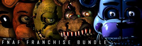 Steam: FNaF Franchise Bundle -80% (Five Nights at Freddy's)
