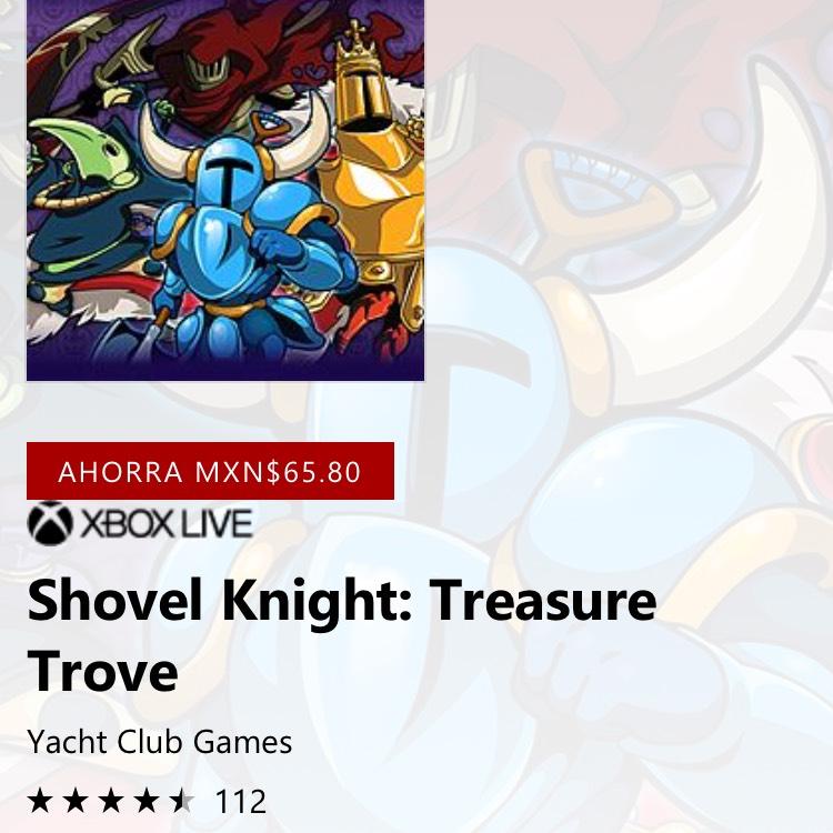 Microsoft Store: Oferta del día Xbox One Shovel Knight