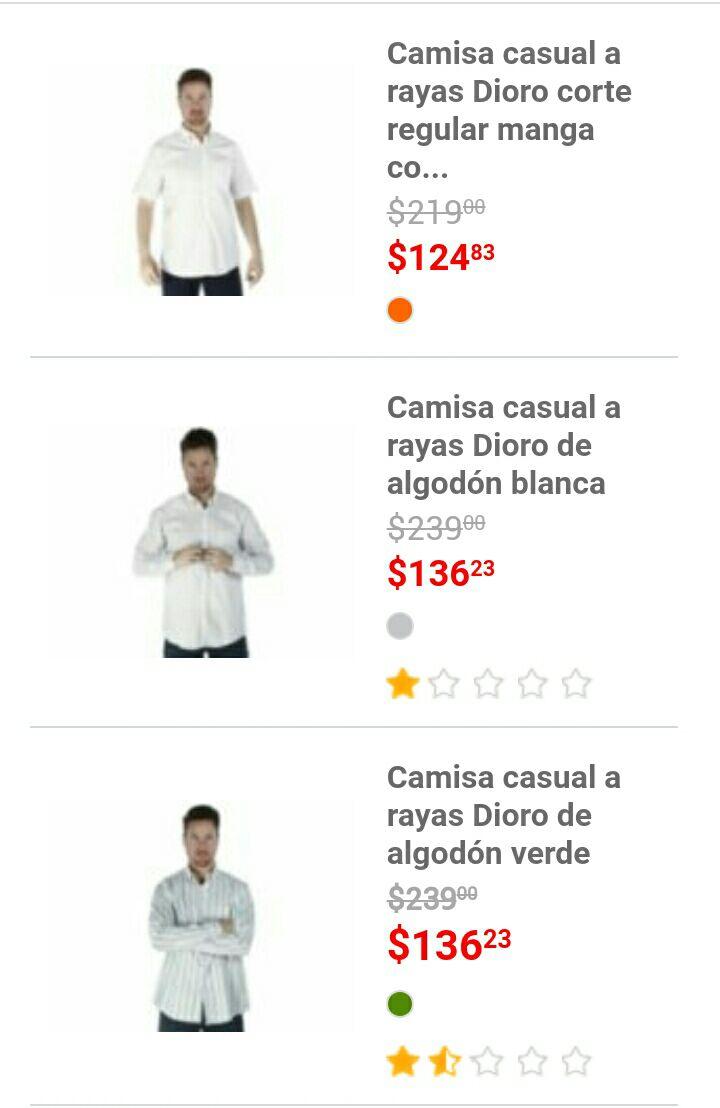 Liverpool: Camisas desde $124 hasta los $200