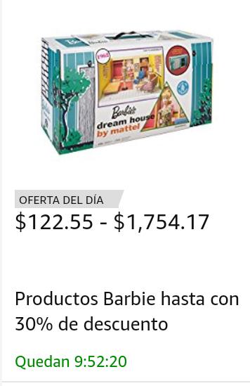 Amazon: Barbie con hasta 30% de descuento