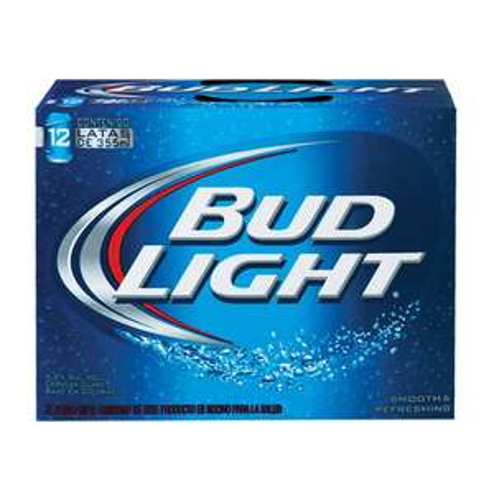 Walmart: Cerveza Bud Light 12 pack PRECIO MAS BAJO!!