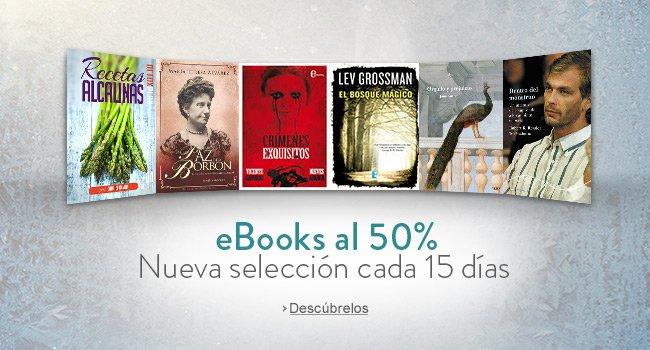 Amazon México: 50% de descuento en eBooks seleccionados