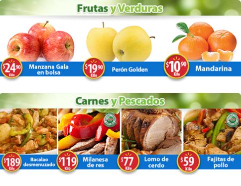 Walmart: Martes de Frescura 26 Diciembre: Mandarina $10.90 kg... Perón Golden $19.90 kg... Manzana Gala en Bolsa $24.90 kg.