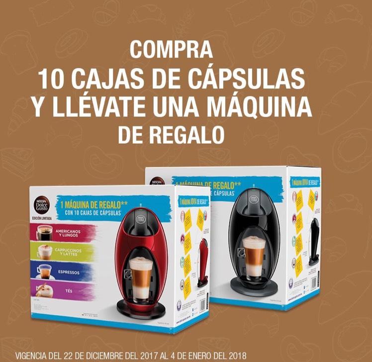 La Comer: Compra 10 cajas de Cápsula y llévate MÁQUINA DE REGALO