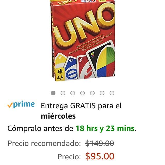 Amazon: Juego de mesa Uno