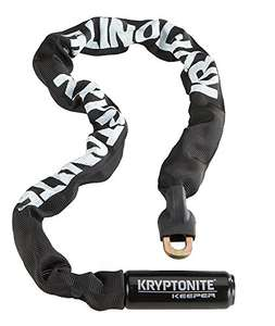 Amazon: Kryptonite Keeper Integrated Chain bicicleta Lock , Negro, (85 cm)
