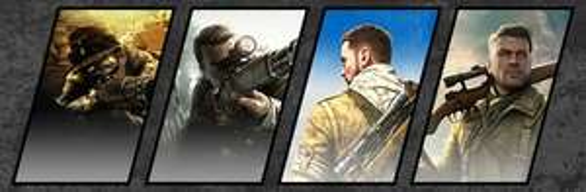 Steam: Bundle Sniper Elite 1 - 4