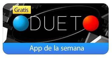 App de la semana en la Appstore: Duet Game GRATIS