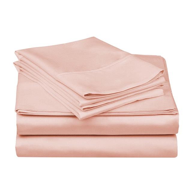 Amazon: Juego de sábanas tamaño queen 100% algodón