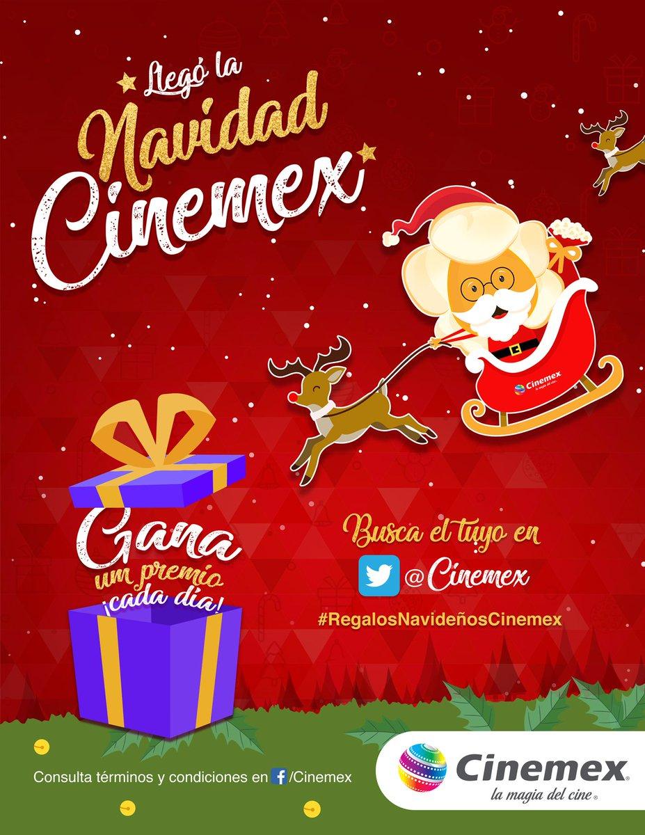 Cinemex: Regalos Navideños Día 2 Cinemex algo frio