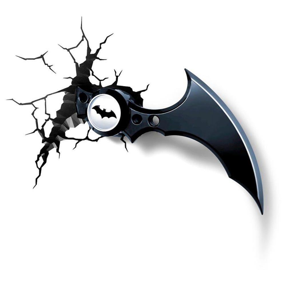 Elektra: lámpara Batarang para pared