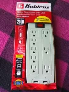 Office Depot: Multicontacto con USB Koblenz