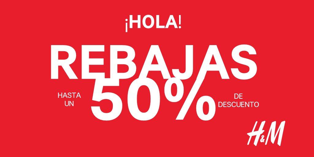 Rebajas en H&M de hasta el 50% en mercancía seleccionada