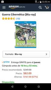 Amazon: Summer Wars / Guerra Cibernética [Blu-ray]