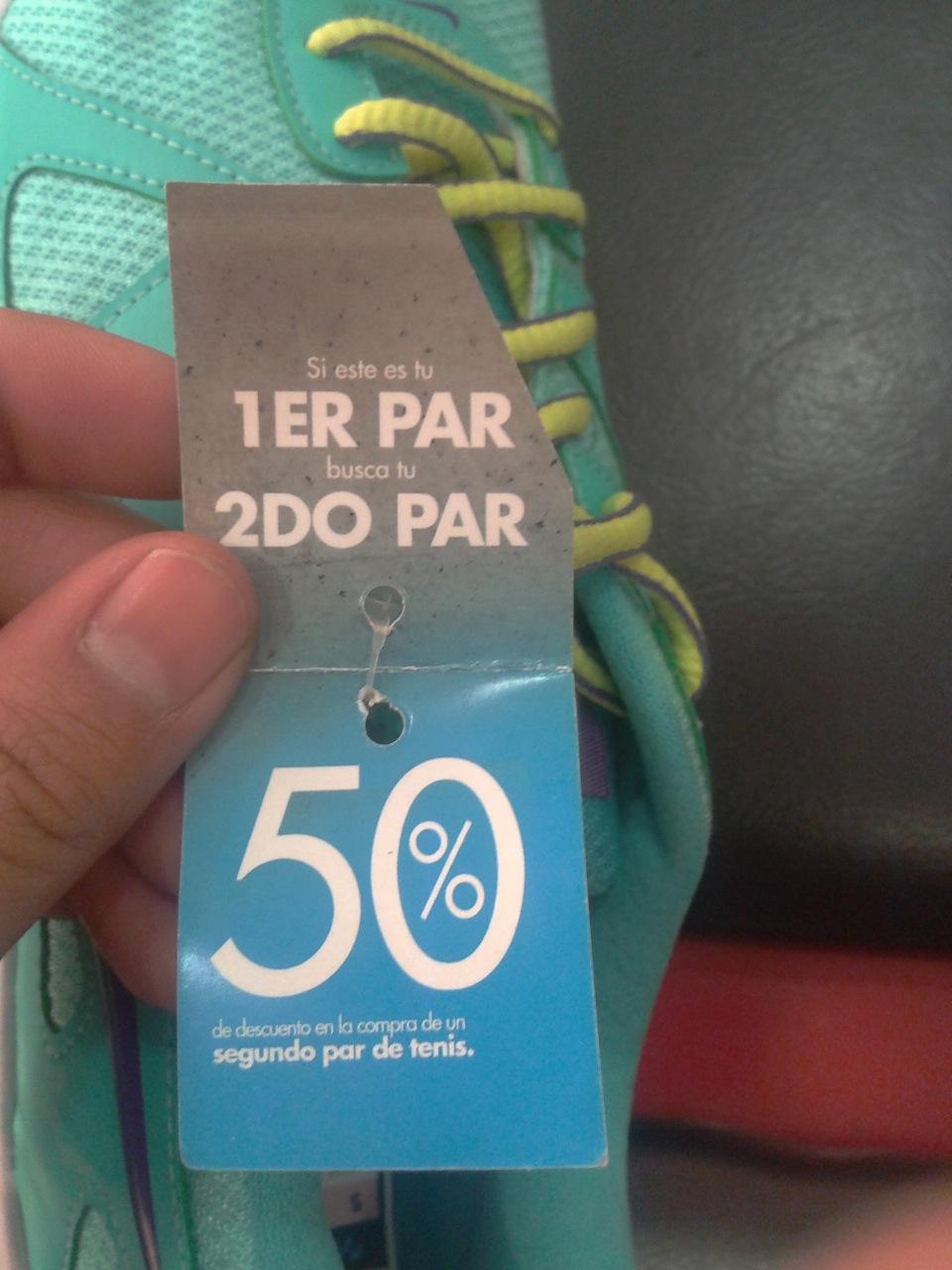 INNOVASPORT: En la compra de un par te llevas otro con 50% descuento