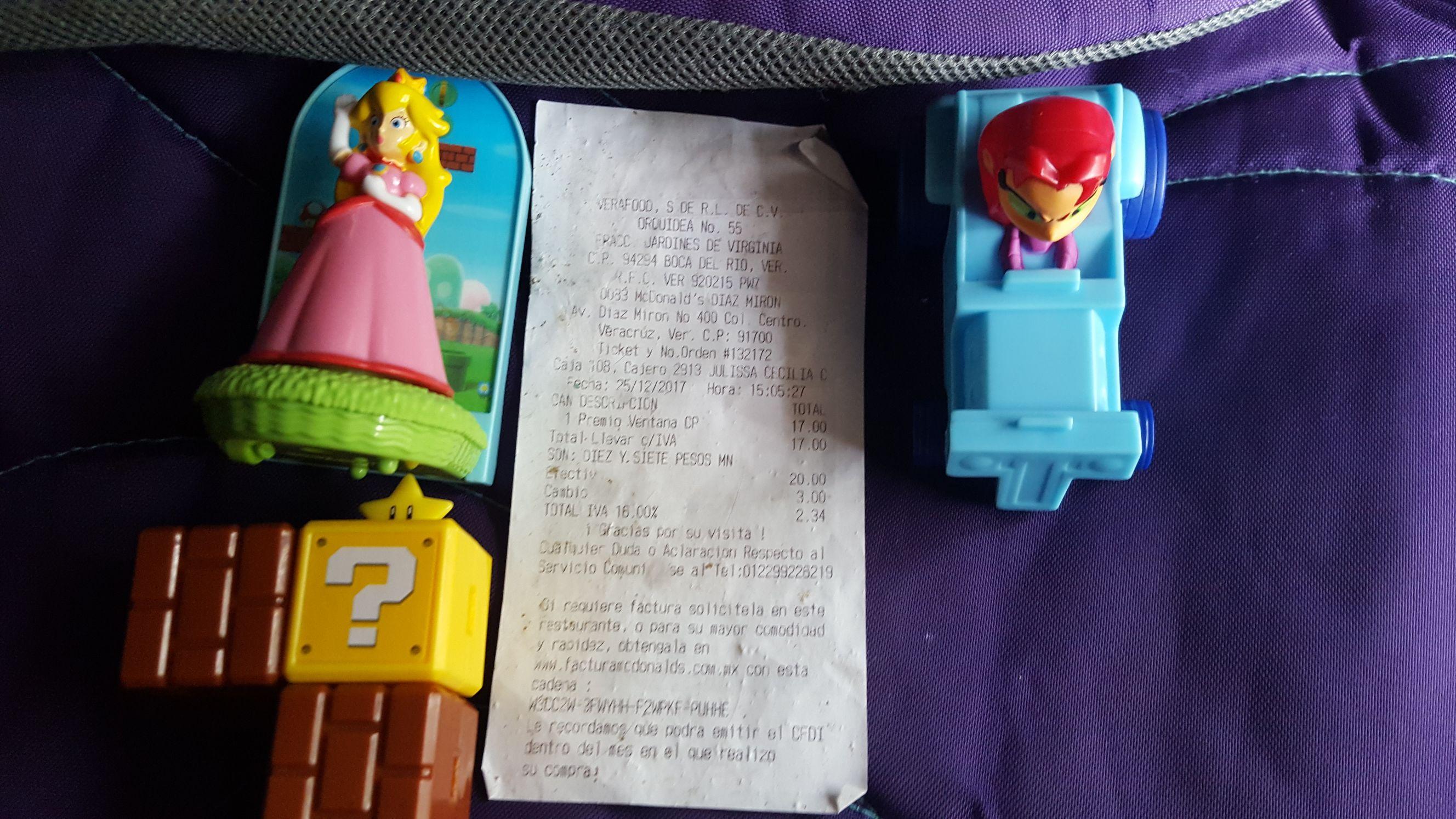 McDonald's: juguetes de la cajita feliz pasados