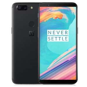 Gearbest: One Plus 5T color Negro 6/64