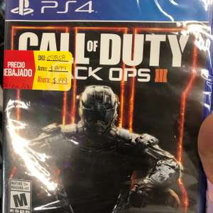 RadioShack: Call of Duty Black Ops lll para PS4 a $199