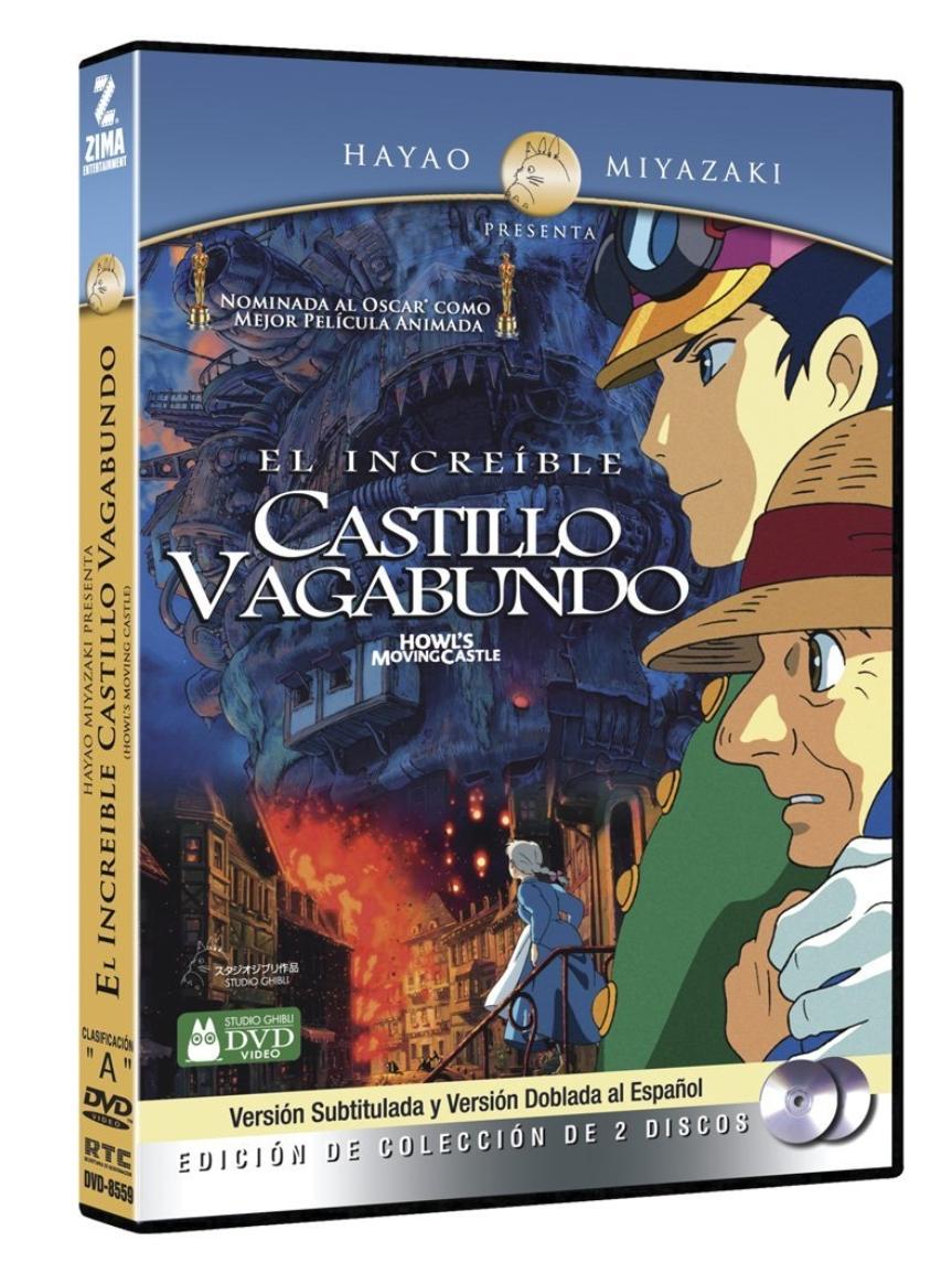 Amazon: DVD El increible castillo vagabundo 2 discos