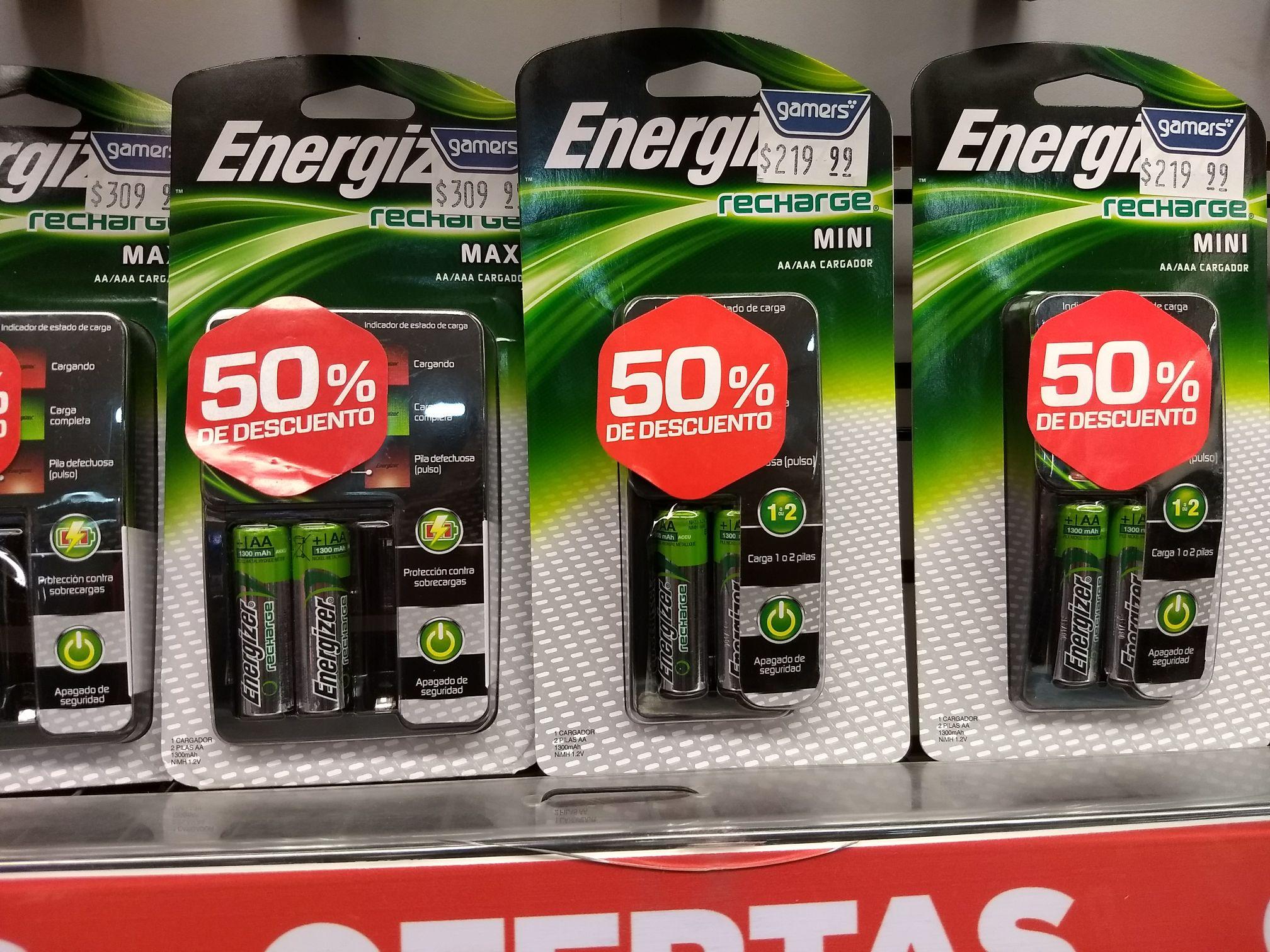Gamers:  Adaptadores para recargar baterías 50%