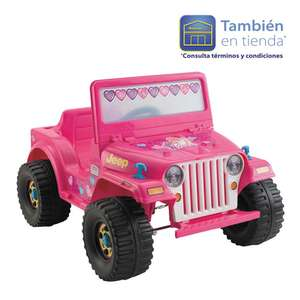 Walmart online: Jeep Barbie Lil Wrangle Power Wheels $1,495