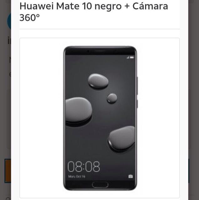 AT&T: Huawuei Mate 10 + Cámara 360 + Plan
