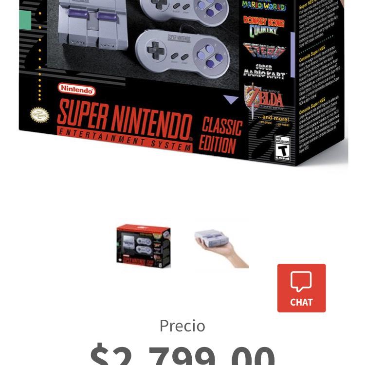 Elektra: Consola Super Nintendo Classic Mini