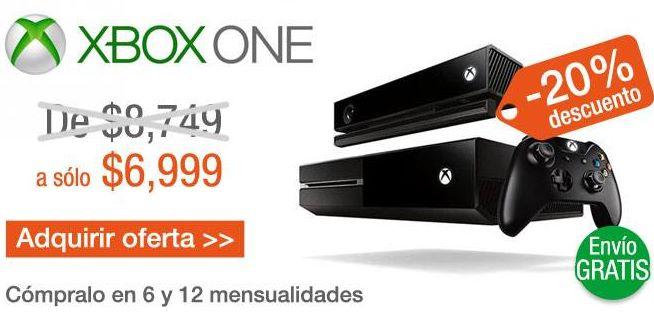 decompras: Xbox One $6,999 y envío gratis